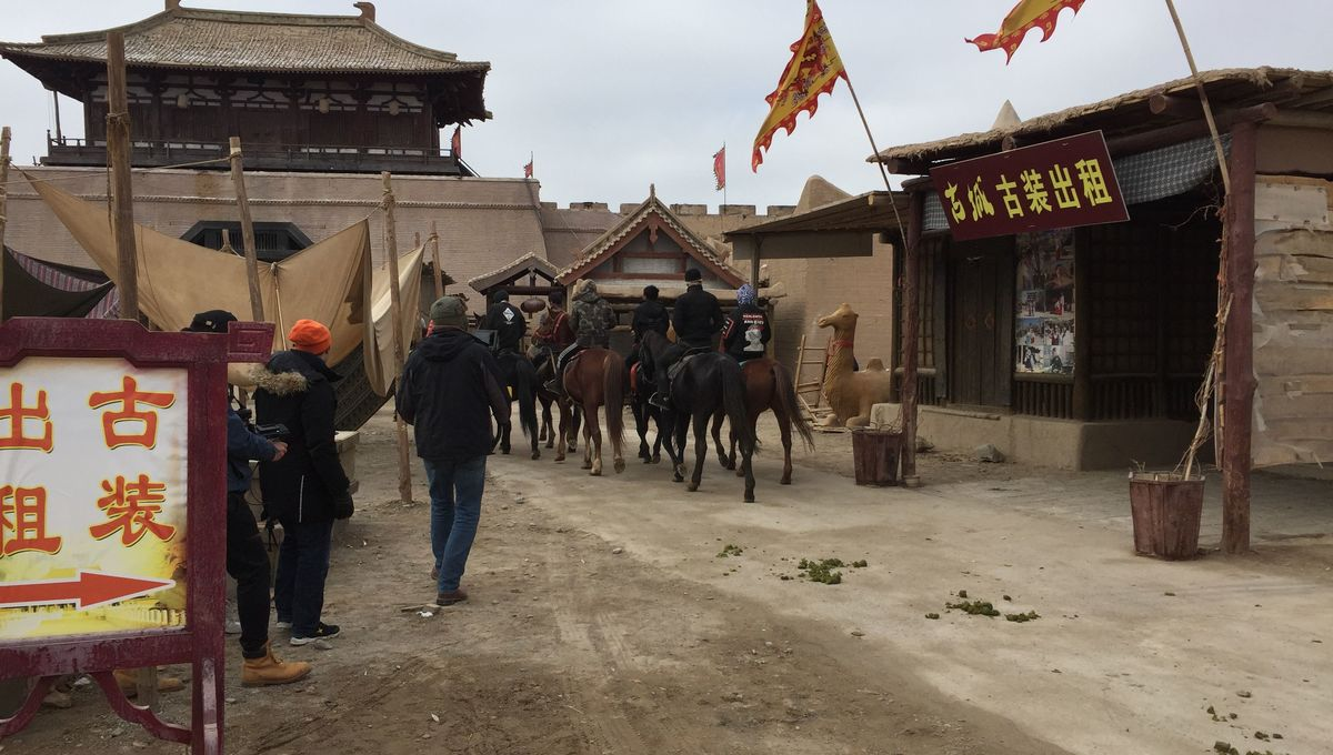 Visiting Dunhuang A 30 Year Old Set For A 1 000 Year Old