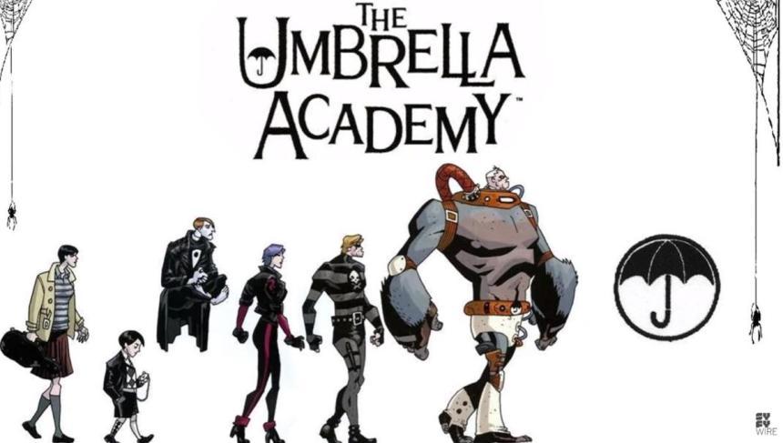 Umbrella Academy, Netflix – The Umbrella Academy, Zone 6