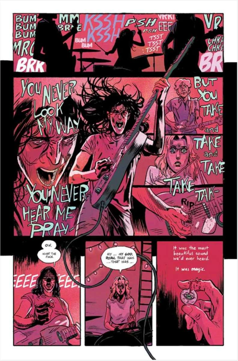 Preview of Image Comics' The Silver Coin horror anthology