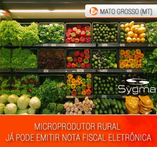 Microprodutor Rural pode emitir NFe da SEFAZ MT