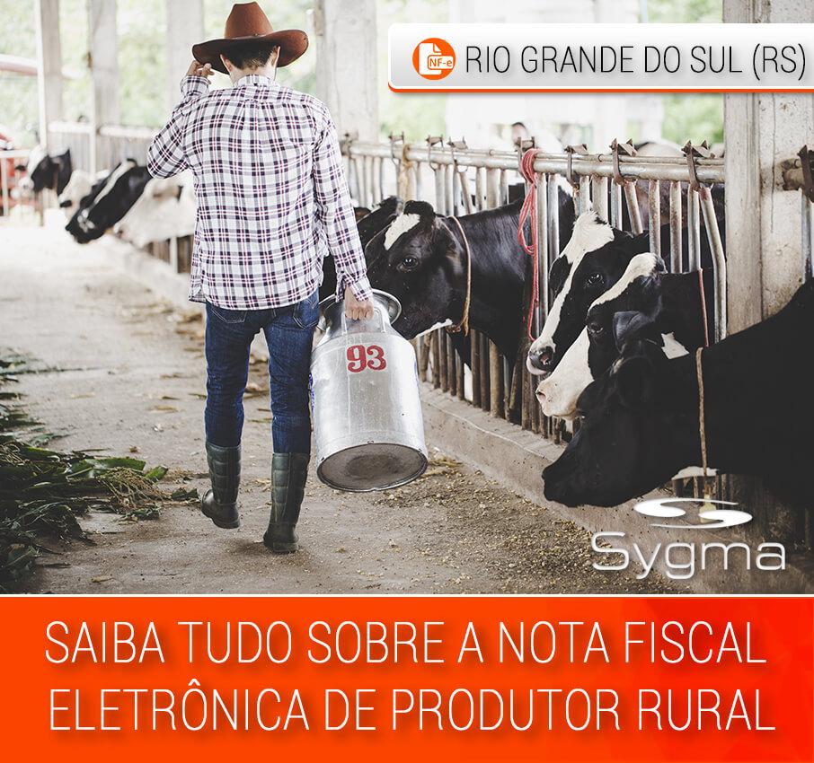 como emitir Nota fiscal produtor rural RS
