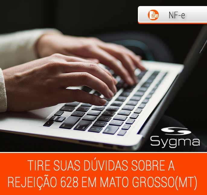 Como resolver rejeição 628 da NFe na SEFAZ MT (Mato Grosso)