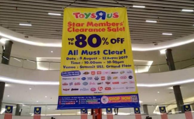 Toys R Us Clearance Sale Up To 80 Off At Summit Usj 9