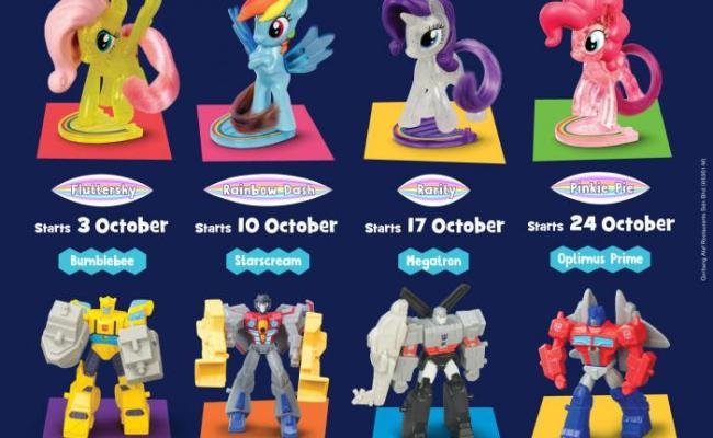 Mcdonald S Happy Meal Free My Little Pony Transformers