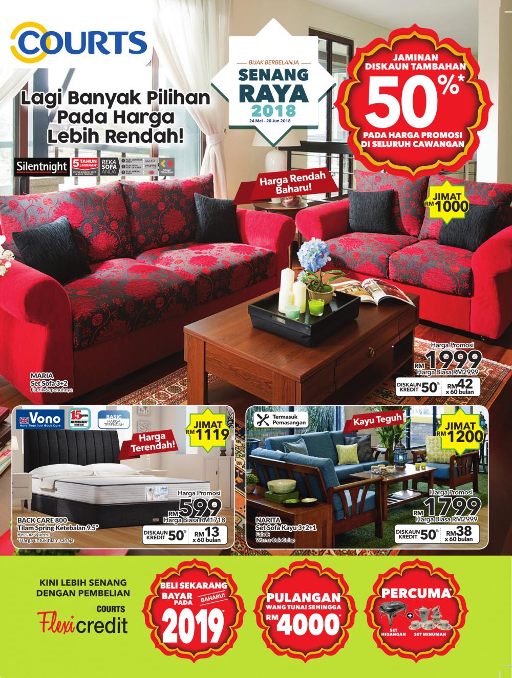 courts sofa lazy boy beds june raya furniture promotion catalogue 24 may 2018 20