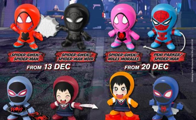 Mcdonald S Free Spider Man Happy Meal Toys 13 December