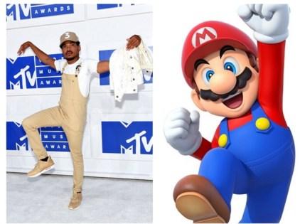 Rapparinn Chance sem Mario