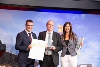 El Gremio de artes graficas premia a SYL por el libro Aurea Dicta de Miquel Barcelo