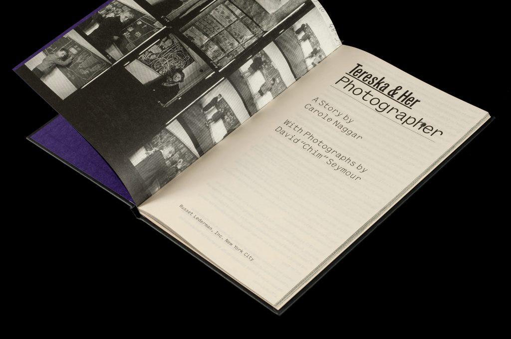 libro Ricardo Baez Carole Naggar's Tereska & Her Photographer SYL