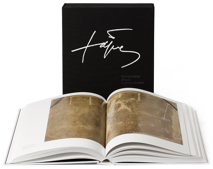 SYL rinde tributo al arte de Tapies junto al Grupo Enciclopedia Biografia de un compromiso