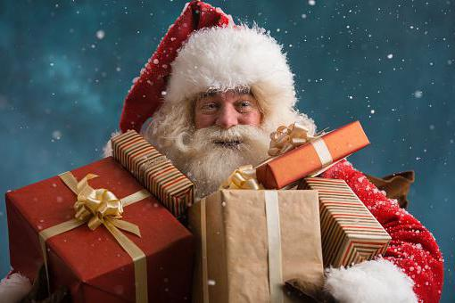 Jak vypadá Santa Claus kostým
