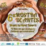 Cartaz - 6ª Mostra de Artes - 06/12/14