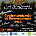 Cartaz - Confraternização de Encerramento - 15/12/12
