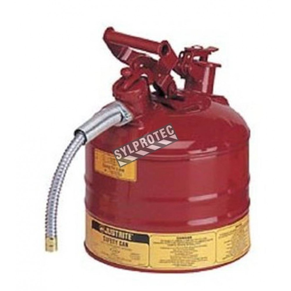 Steel type 2 flammable liquids container of 25 gallons by