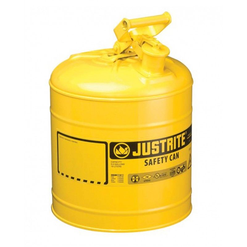 Flammable liquids container type 1 5 US gallons For