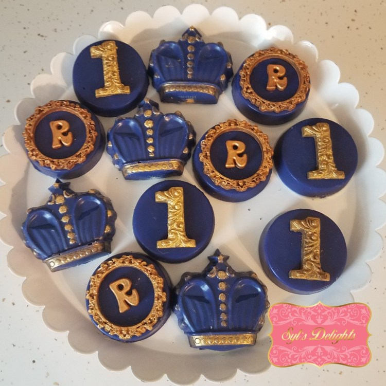 Royal crown Choc. Oreo's