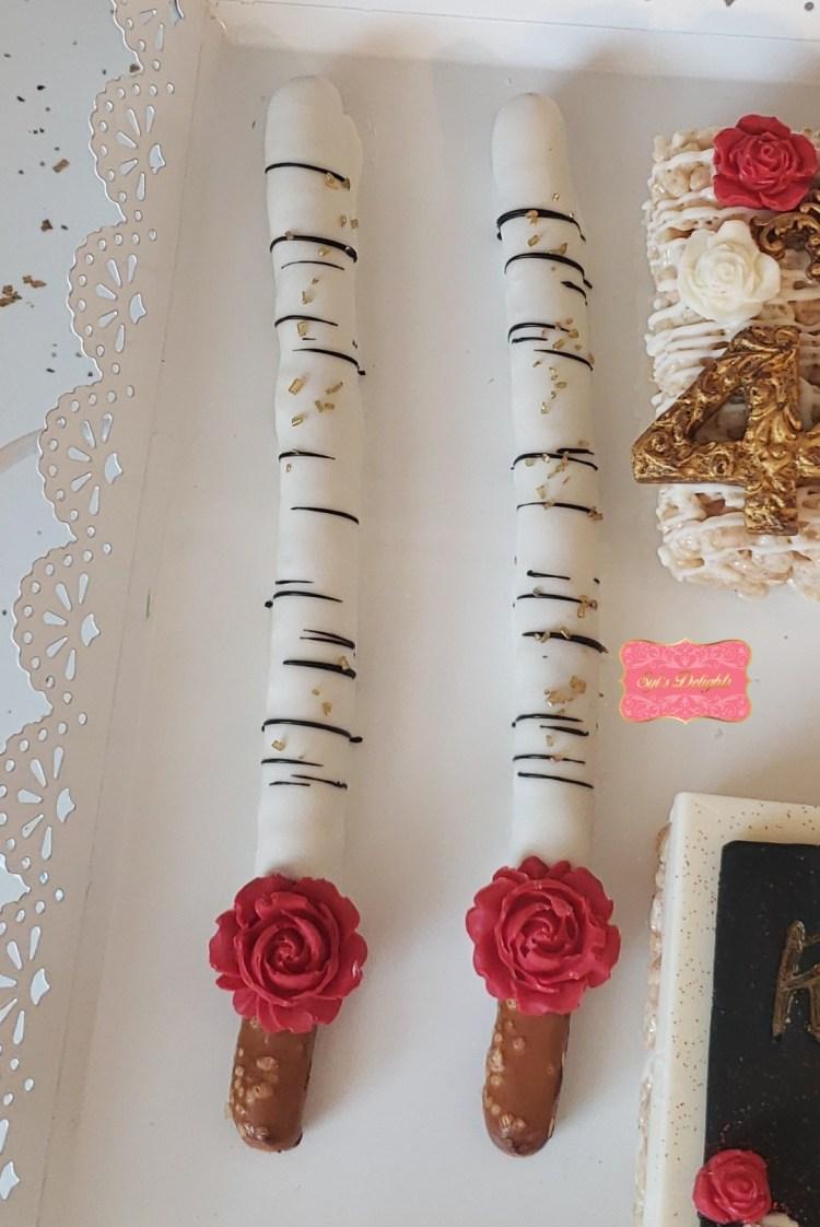Rose Pretzel sticks