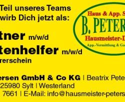 B. Petersen GmbH & Co KG | Beatrix Petersen