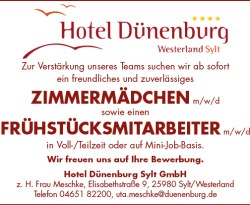 Hotel Dünenburg Sylt GmbH