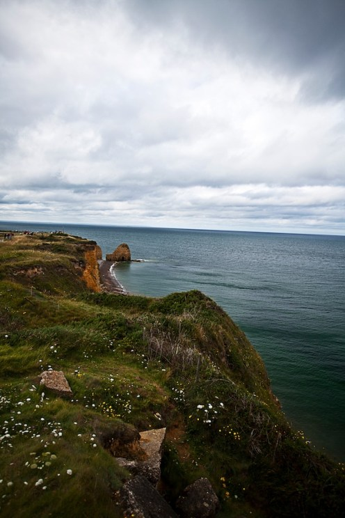 La pointe du Hoc ( Normandie )