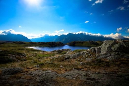 lac Ballade en haute montagne Savoie
