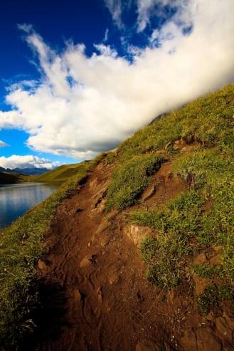 lac Ballade en haute montagne Savoie 5