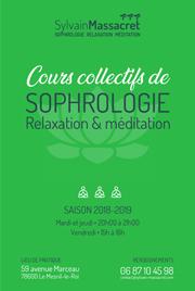 Cours collectifs sophrologie - Sylvain Massacret - 2018-2019