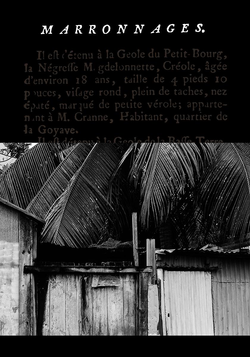 Parution de notre livre «Marronnages»