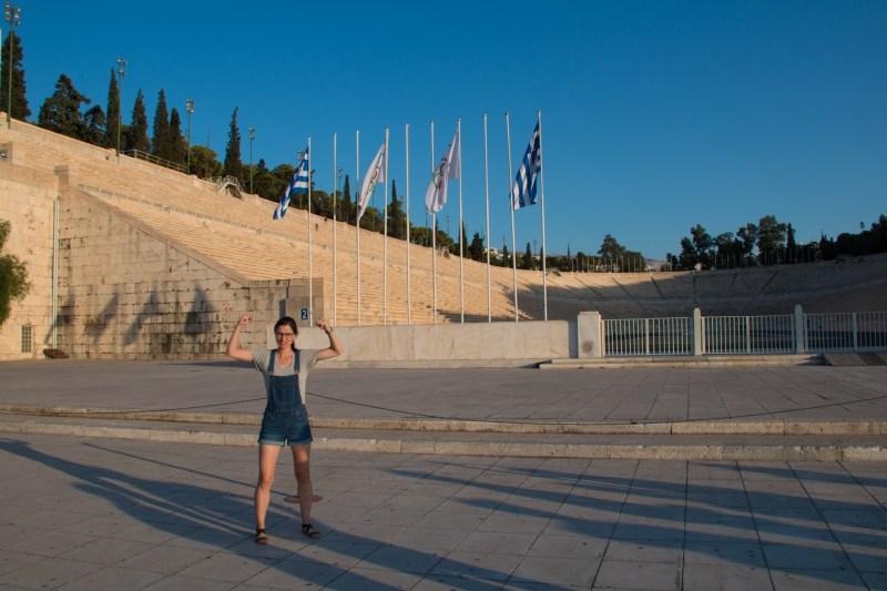 Premier stade olympique!