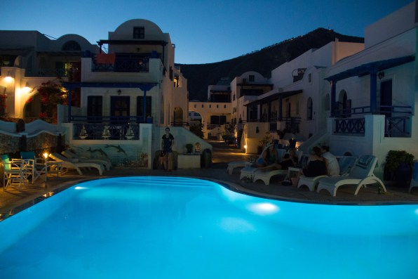 L'hôtel Samson's Village à Períssa