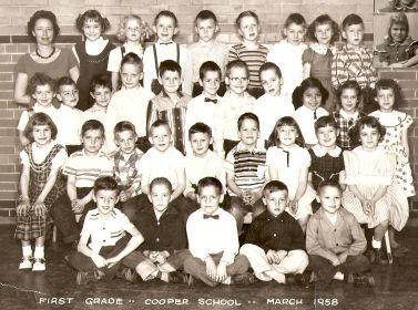 1957-1958 1st Grade