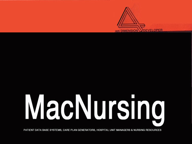 1982-1994 Computers to MacNursing