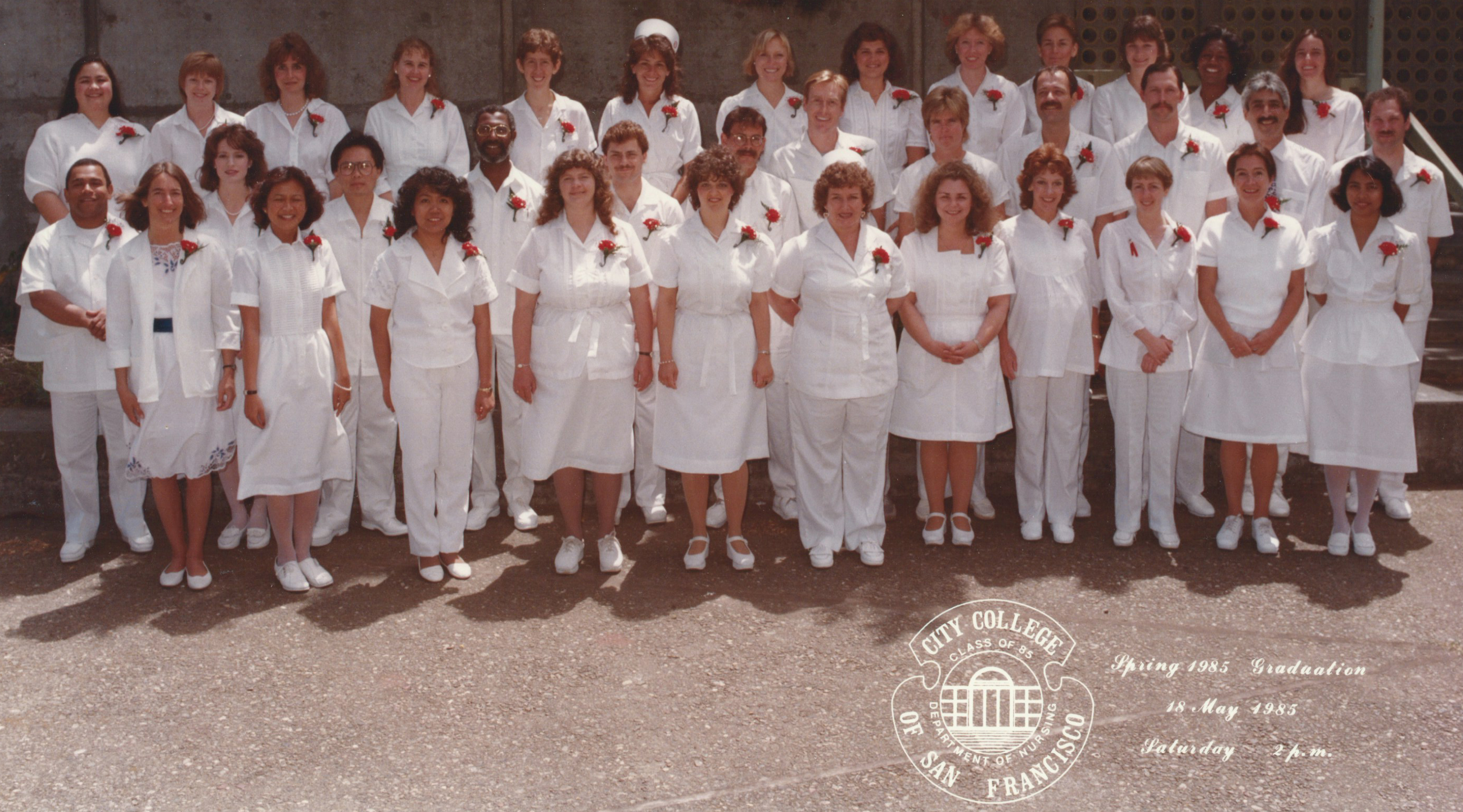 1985- Graduation from Nursing School