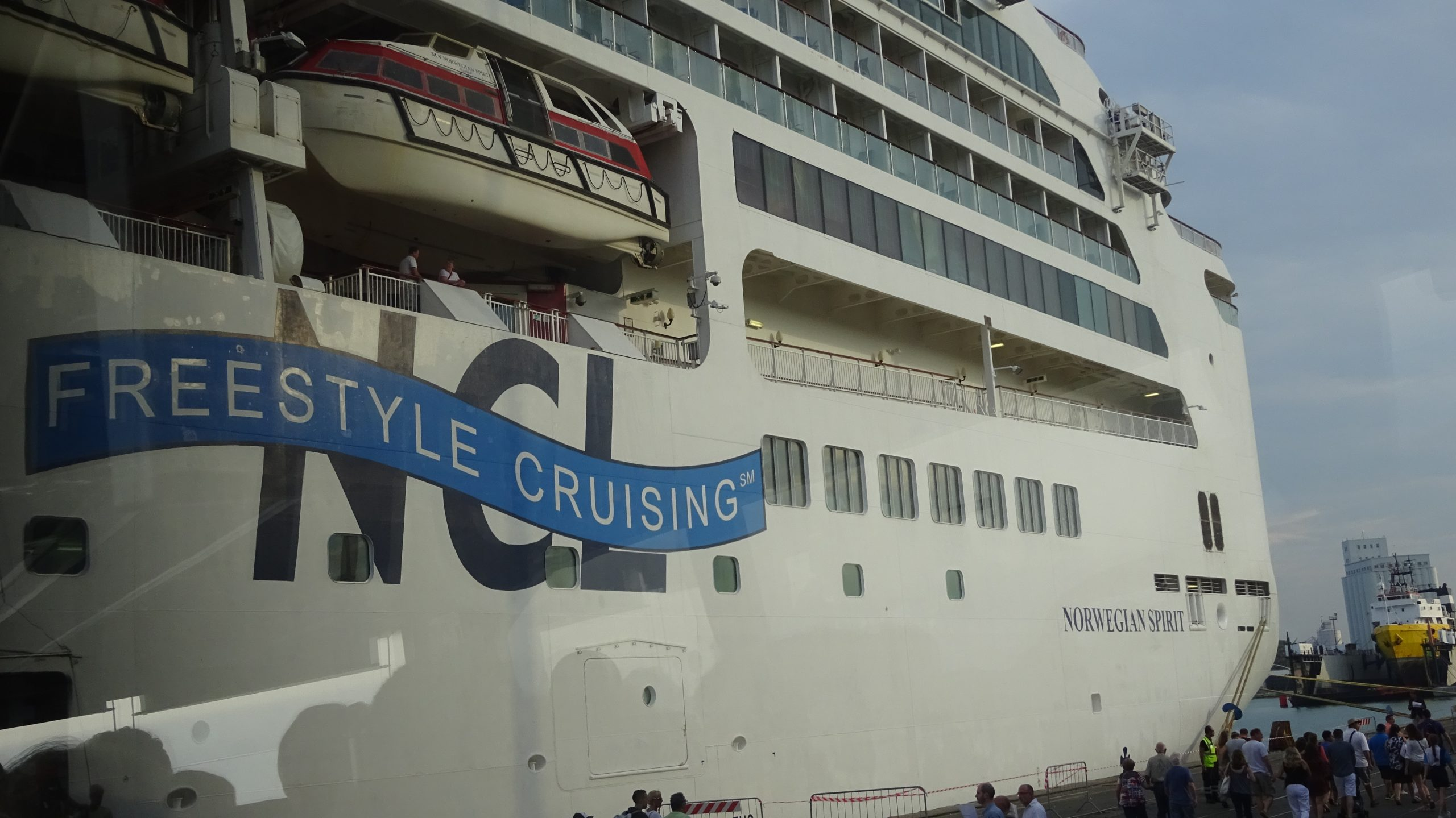 2016-September: Mediterranean Cruise on Norwegian Spirit
