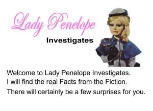 LADY PENELOPE INVESTIGATES