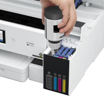 Epson EcoTank ET-15000 Specs with spill-free technology