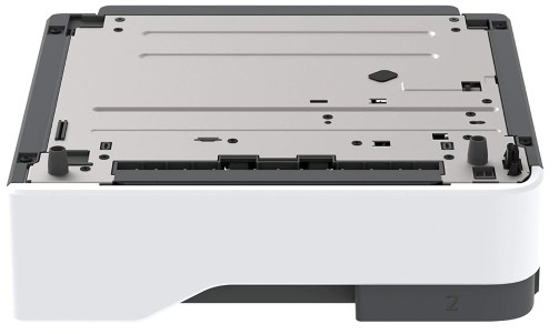 a separated 550-sheet tray