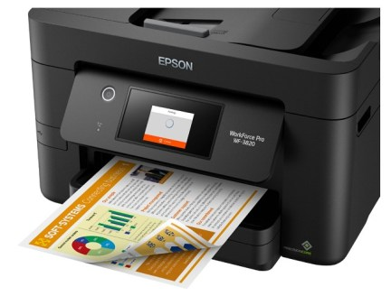 Epson WorkForce Pro WF-3820 Print Result