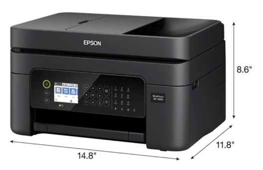 Epson WorkForce WF-2850 Design