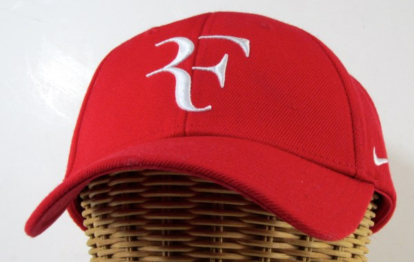 Authentic Nike Roger Federer Foundation Red Rf Cap Rare