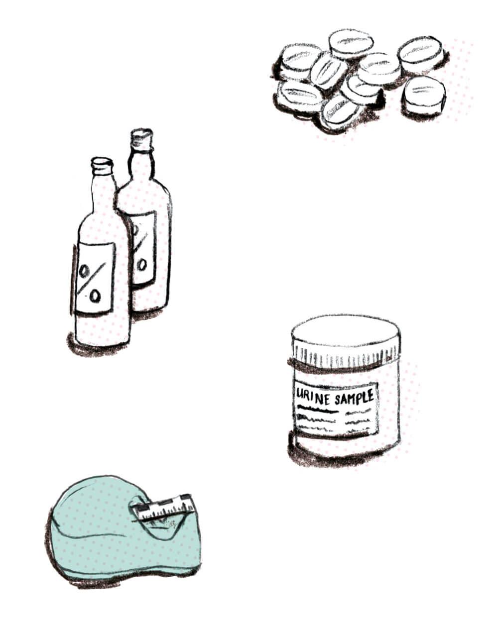 medical illustrations. sylviastølan