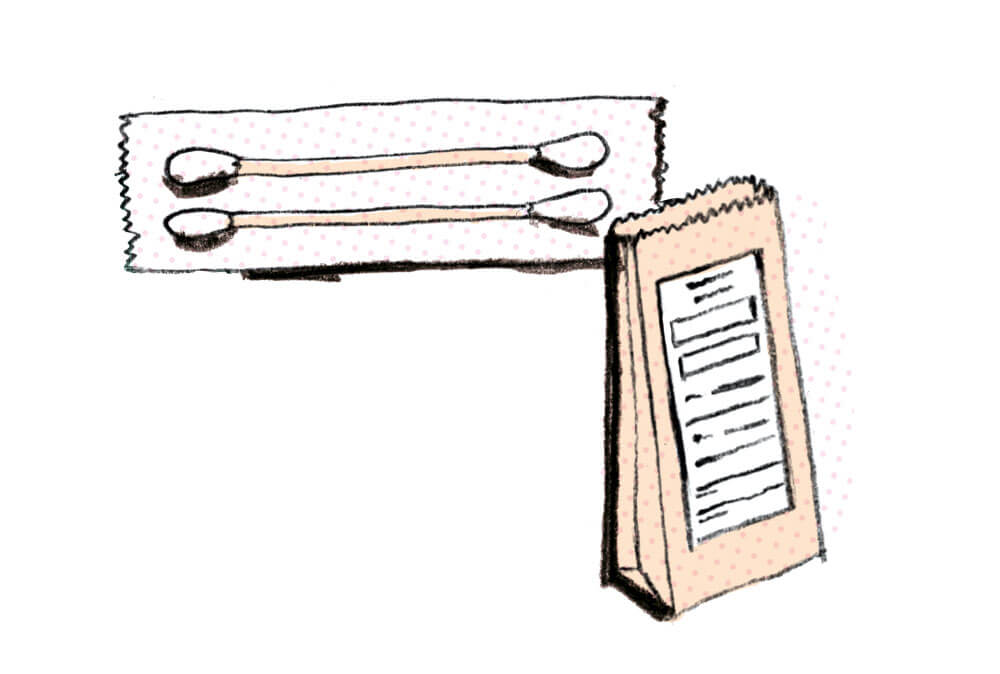 medical illustration.cottonswabs.sylviastølan