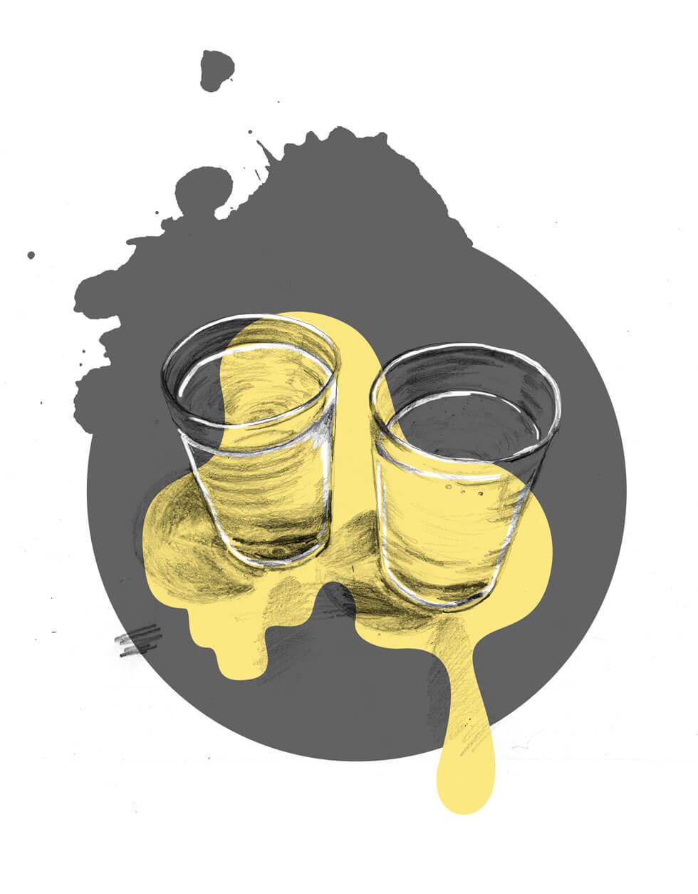 Sylviastolan_waterglass