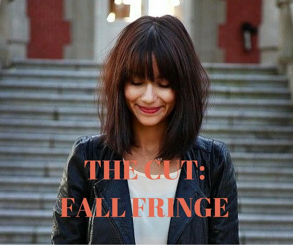 Sylvie in the Sky - Fall Haircut Inspiration - Fringe - Bangs - Trend