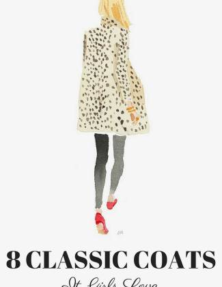 Sylvie in the Sky / Winter Style Guide / 8 CLASSIC COATS It Girls Love / Leopard Coat by Caitlin McGauley / Tiger Flower Studio - 8 CLASSIC WINTER COATS IT GIRLS LOVE featured by popular San Francisco fashion blogger, Sylvie in The Sky