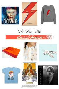 Sylvie in the Sky / Love List: David Bowie / Best David Bowie Moments