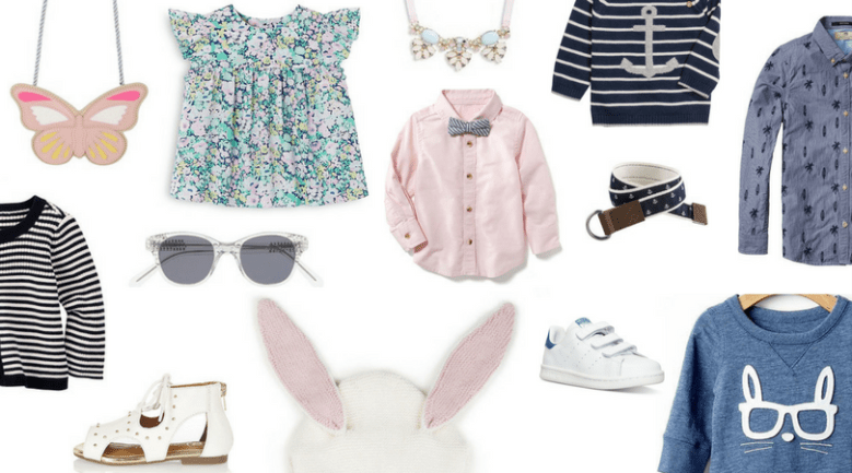 Kids Easter Outfits featured by top US fashion blogger Sylvie in the Sky
