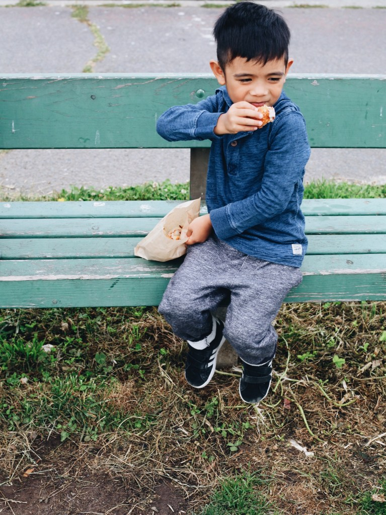 toddler boy back to school outfit ideas by Osh Kosh BGosh featured by popular San Francisco style blogger, Sylvie in the Sky