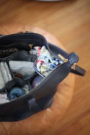Goldenchild Baby Diaper Bag Organizers featured by popular San Francisco lifestyle blogger, Sylvie in The Sky