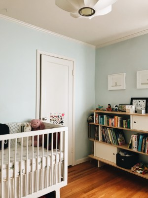 SHARED NURSERY CLOSET MAKEOVER organization container store